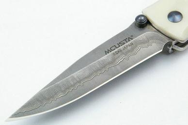 Складной нож MC-0015D (VG-10, corian) Mcusta, клинок