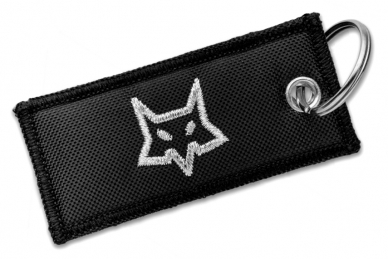 Складной нож Mini-KA (black blade) Fox, патч