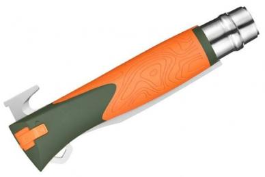 Складной нож №12 Explore (orange) Opinel, сложен