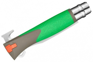 Складной нож №12 Explore (green) Opinel, сложен