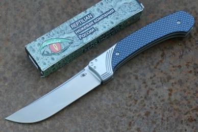 """Складной нож """"Пчак-2"""" (blue) Reptilian"""