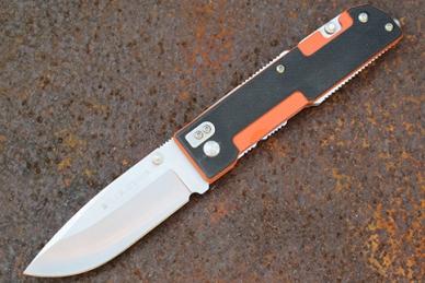 Нож складной M6 (orange) Real Steel