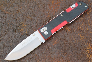Нож складной M6 (red) Real Steel