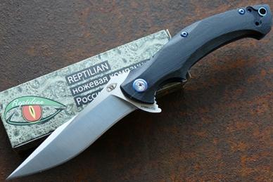 Нож складной «Чекан» Reptilian
