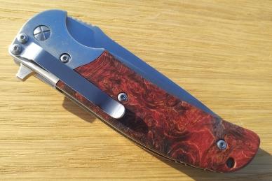 Нож складной «Резервист» (burl maple) Steelclaw