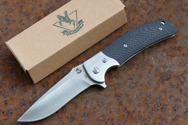 Нож складной «Резервист» (carbon fiber) Steelclaw, КНР