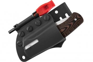 В комплекте с ножом поставляются высококачественные ножны из кайдекса