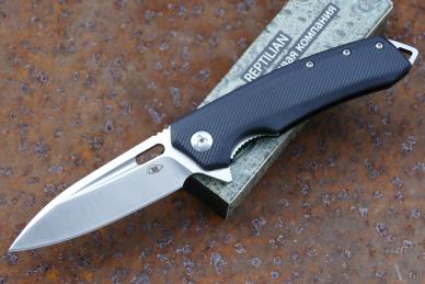 Нож складной «Шершень-1» (black) Reptilian, КНР
