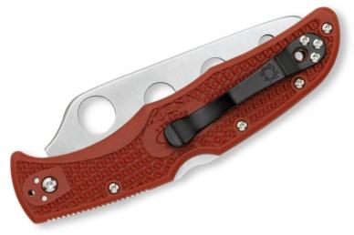 Тренировочный складной нож Endura 4 (AUS-6) Spyderco, сложен