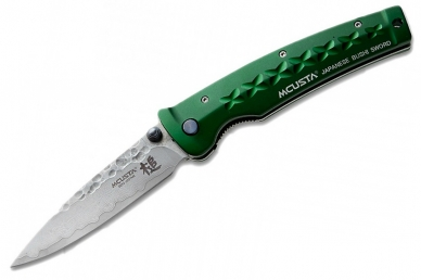 Складной нож Tsuchi MC-0163D (дамасская сталь) Mcusta