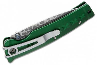Складной нож Tsuchi MC-0163D (дамасская сталь) Mcusta, сложен