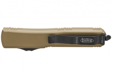 Нож Ultratech (Tanto Edge, Black Blade, Tan) Microtech