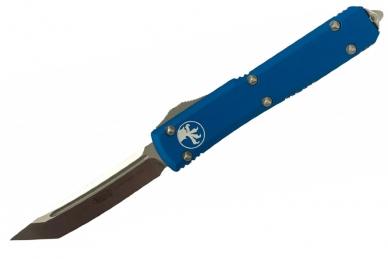 Нож складной Ultratech (Tanto Edge, Blue) Microtech