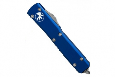 Надежный нож складной Ultratech (Tanto Edge, Blue) Microtech