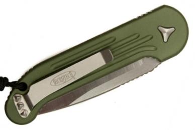 Складной нож LUDT (OD Green) Microtech, сложен