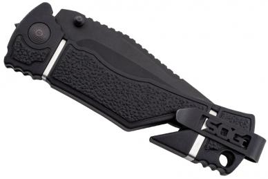 Складной нож Trident Elite Black TiNi Blade SOG