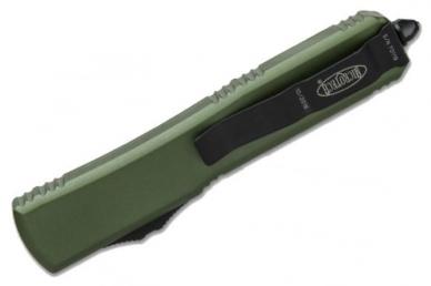 Складной нож Ultratech (Single Edge, Black Blade, OD Green) Microtech