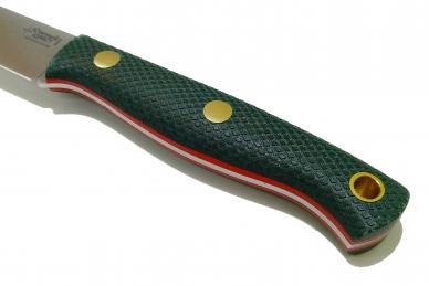 Нож Slender M N690 (зеленая микарта с оружейной насечкой) Южный Крест