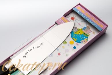 Нож Smile for Future 170 мм Satake, клинок