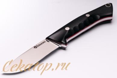 Нож «Соколиный Глаз» (сталь K110, черный G-10) Лебежь, Россия