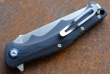 Нож складной «Дагон» (black) Steelclaw