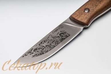 """Стерх-1"" (клинок с рисунком, дерево) Кизляр, клинок"
