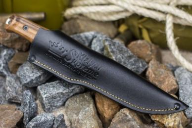 Ножны для ножа Sturm (AUS-8, Walnut) Kizlyar Supreme, Россия