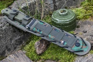 Нож Survivalist X (AUS-8, G-10) Kizlyar Supreme, в ножнах