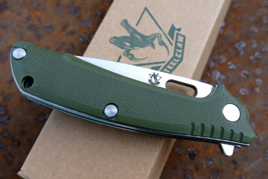 Нож «T03F» (green) Steelclaw, КНР