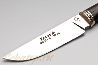 Нож Тигр (95Х18) Алексей Фурсач (Ворсма), клинок