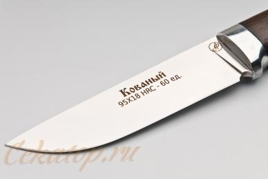 Нож Тигр (95Х18, полный хвостовик) Алексей Фурсач (Ворсма), клинок
