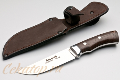Нож и ножны Тигр (95Х18, полный хвостовик) Алексей Фурсач (Ворсма)