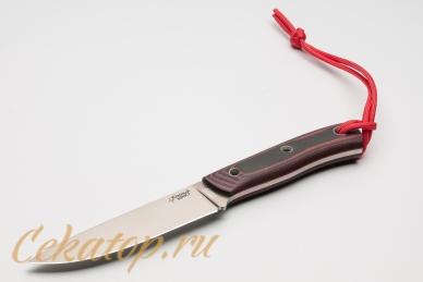 Нож TKK (Elmax, черно-оранжевый) Южный Крест с темляком