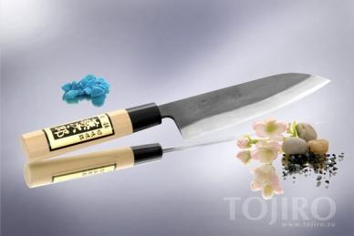 Всемогущий японский нож Сантоку Japanese Knife F-698