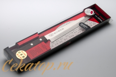 Нож Tomoko Sashimi 200 мм Satake, упаковка