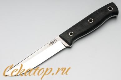 Нож Тундра (N690, серая микарта) Южный Крест, Россия