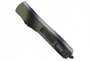 Нож Ultratech (Tanto Edge, Black Blade, Green Camo) Microtech