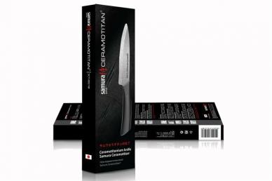 Кухонный универсальный нож 125 мм матовый SCT-0021m Ceramotitan Samura