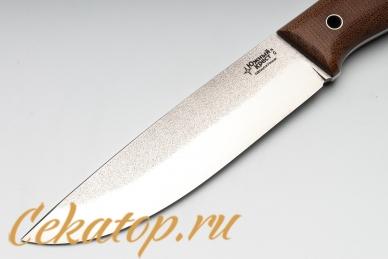 Нож X (D2, микарта) Южный Крест, клинок