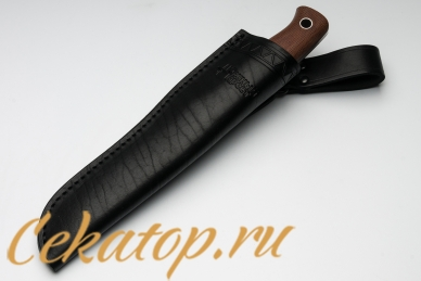 Нож X (D2, микарта) Южный Крест в ножнах