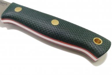 Нож X N690 (зелёная микарта с оружейной насечкой) Южный Крест