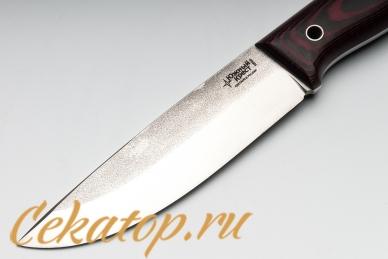 Нож XM (N690, черно-красный G10) Южный Крест, клинок