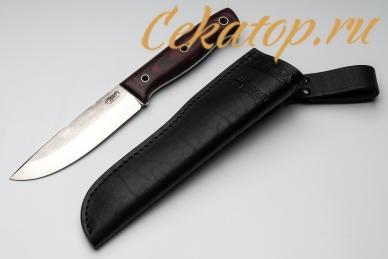 Нож XM (N690, черно-красный G10) Южный Крест с ножнами