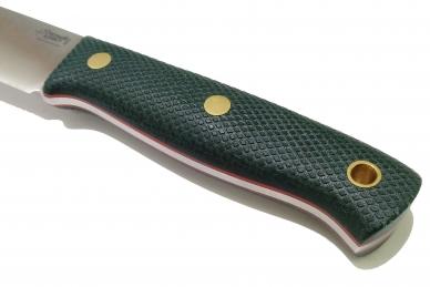 Нож XM N690 (зелёная микарта с оружейной насечкой)
