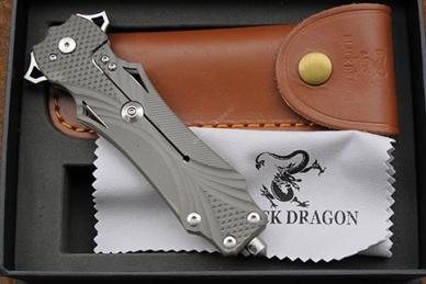 Нож Y-Start «Черный дракон» HS07