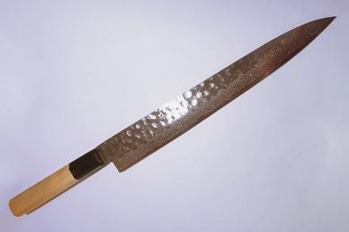 Нож Янагиба для суши и сасими 240 мм Hammered 07257 Sakai Takayuki, Япония