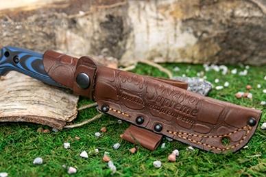 Нож Kizlyar Supreme Yeti в кожаном чехле