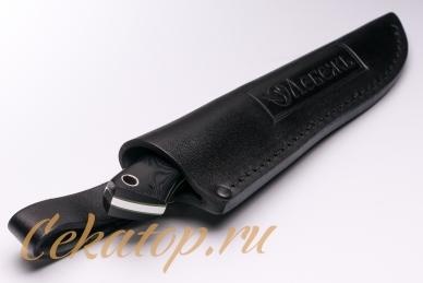 Нож «Зверобой» (сталь N690) Лебежь в ножнах