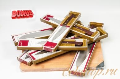 Бонус-пак: японские ножи Kanetsugu Special и бамбуковая разделочная доска