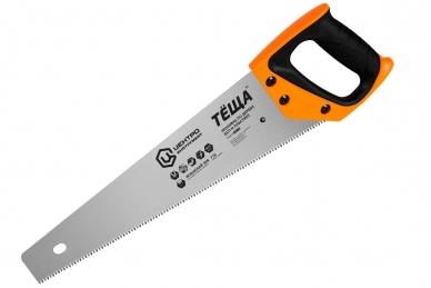 """Ножовка по дереву """"Тёща"""" (мелкая, """"японский зуб"""") 500 мм, ЦИ, из высококачествен"""